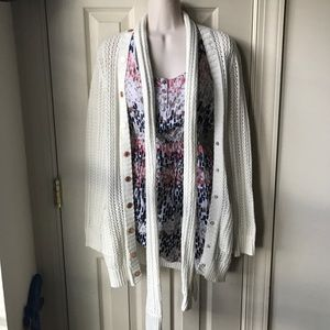 Rodarte for Target crochet cardigan